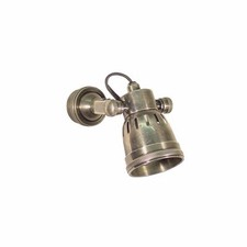 Seattle Rotatable Wall Sconce in Antique Silver
