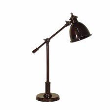 Vermont Adjustable Desk Lamp in Brown