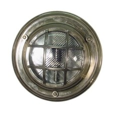 Jervis Porthole Wall Light in Antique Silver