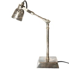 Antique Silver Seattle Desk Lamp