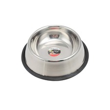 Non-Slip Stainless Steel Pet Dish
