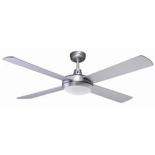 """Lifestyle LED 130 cm (52"""") Brushed Aluminium Ceiling Fan"""
