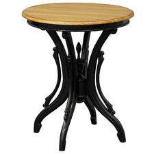 Round JK Solid Wood Wine Table