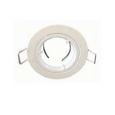 12V MR11 Fixed Round Downlight Frame (Set of 2)
