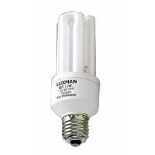 12V DC 15W Globe Fluorescent Bulb 6000 Hours in Day Light (Set of 10)