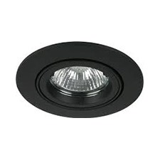 Black GU10 Downlight Fittings