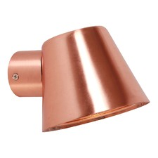 Skopa Copper GU10 Exterior Wall Lamp