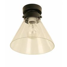 17.5cm DIY Glass Batten Light