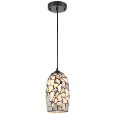 Glaze 13.6cm Glass Pendant Light