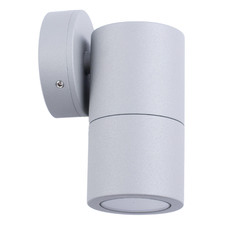 GU10 12.5cm Aluminium Outdoor Wall Light