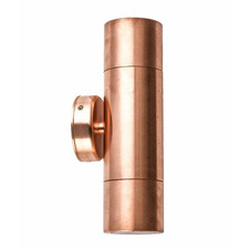 GU10 Up/Down Copper Outdoor Wall Light