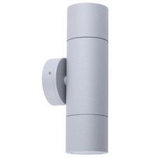 GU10 21cm Aluminium Outdoor Wall Light