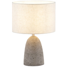 Roca Cement Table Lamp
