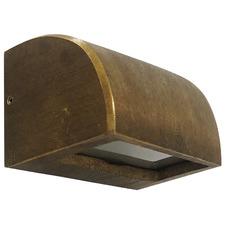 Bronze 11.5cm Curved Step Light