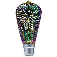 Spectra Pear Firework LED Bulb