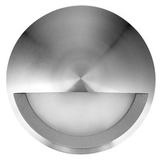 240V Eyelid Aluminium Step Light