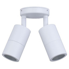 MR16 Adjustable Double Aluminium Outdoor Ceiling Light
