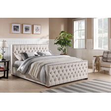 Sheffield Classic Upholstered Bed Frame