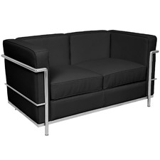 Le Corbusier Replica 2 Seater Faux Leather Sofa