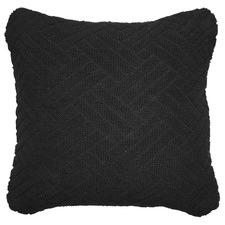 Thatch Black Cushion