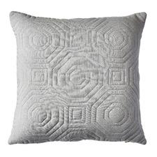 Geometric Stella Dove Cushion