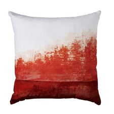 Low Tide Red Cushion