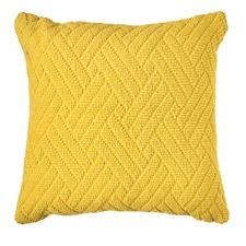 Thatch Lemon Cushion