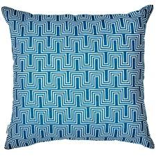 Geometric Yves Linen Cushion