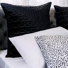 Quilted Velvet European Pillowcase