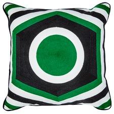 Manhattan Embroidered Cotton Cushion