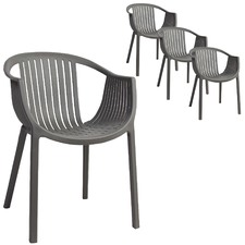 Osaka Stackable Outdoor Armchairs (Set of 4)