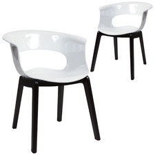 Miss B Contemporary Dining Chairs (Set of 2)