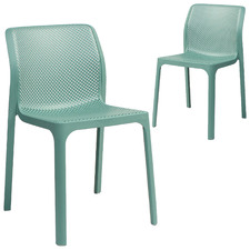 Gambit Stackable Dining Chairs (Set of 2)