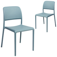 Bora Modern Dining Chairs (Set of 2)