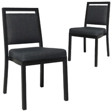 Denver Metal Stackable Chairs (Set of 2)