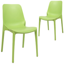 Ginevra Stackable Dining Chairs (Set of 2)