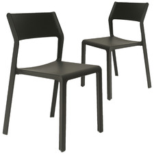 Trill Stackable Dining Chairs (Set of 2)