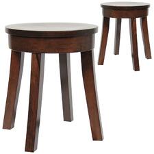 Bonn Round Footstools (Set of 2)