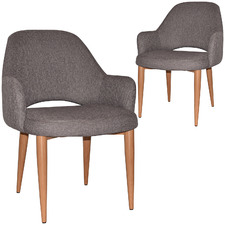 Richmond Upholstered Tub Armchairs (Set of 2)