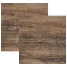 Atacama Cherry Wood Look 80cm Square Tabletops (Set of 2)