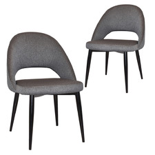 Grey Emmeline Dining Chairs (Set of 2)