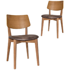 Bentley Dining Chairs with Eastwood Donkey Seat (Set of 2)