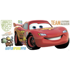 Large Cars 2 Peel & Stick Wall Decals