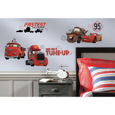 Disney Cars Friends Wall Decals