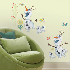 Disney Frozen Fever Olaf Wall Decals