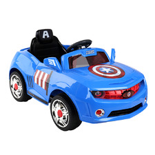 Kids' Captain America Ride-On Car