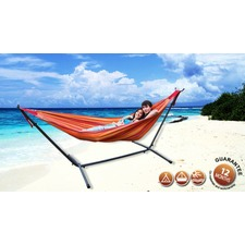 Universal Double Hammock and Frame Combo Set