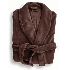 Microplush Robe in Bitter Chocolate