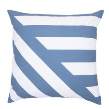 Deco Cushion Filled Blue