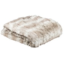 Angora Faux Fur Throw Rug